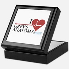 I Heart Grey's Anatomy Keepsake Box