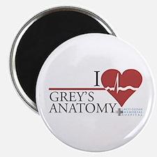 I Heart Grey's Anatomy Magnet