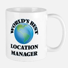 World's Best Location Manager Mugs