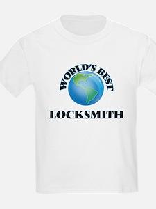 World's Best Locksmith T-Shirt