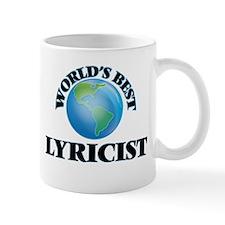 World's Best Lyricist Mugs