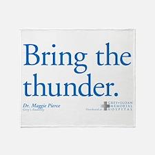 Bring the Thunder Stadium Blanket