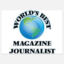 World's Best Magazine Journalist Invitations
