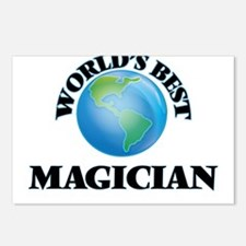 World's Best Magician Postcards (Package of 8)