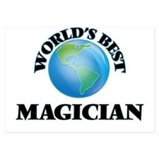 World's Best Magician Invitations