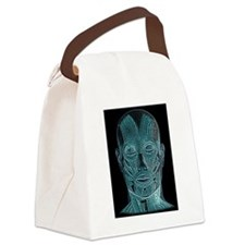 Contemplating the inner man Canvas Lunch Bag