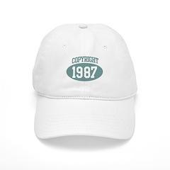 Copyright 1987 Baseball Cap