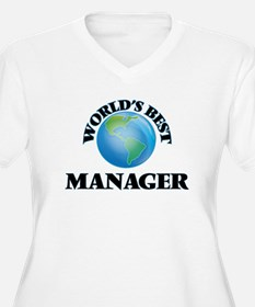 World's Best Manager Plus Size T-Shirt