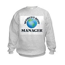 World's Best Manager Sweatshirt