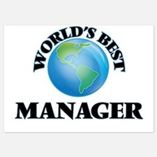 World's Best Manager Invitations