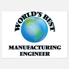 World's Best Manufacturing Engineer Invitations