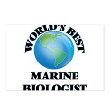 World's Best Marine Biolo Postcards (Package of 8)