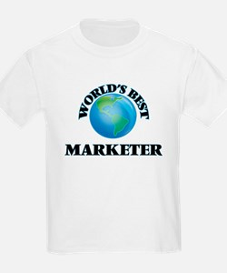 World's Best Marketer T-Shirt