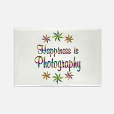 Happiness is Photography Rectangle Magnet