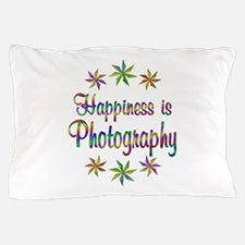 Happiness is Photography Pillow Case