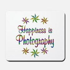 Happiness is Photography Mousepad