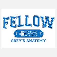 Grey's Anatomy Fellow 5x7 Flat Cards
