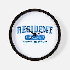 Grey's Anatomy Resident Wall Clock