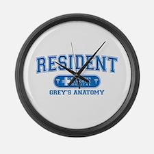 Grey's Anatomy Resident Large Wall Clock