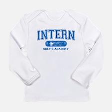 Grey's Anatomy Intern Long Sleeve Infant T-Shirt