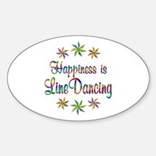 Happiness is Line Dancing Decal