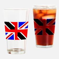 Uk Trini Drinking Glass