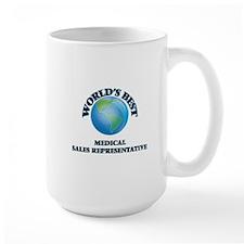 World's Best Medical Sales Representative Mugs