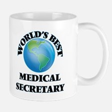 World's Best Medical Secretary Mugs