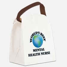 World's Best Mental Health Nurse Canvas Lunch Bag