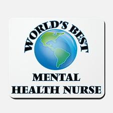 World's Best Mental Health Nurse Mousepad