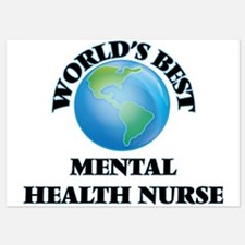World's Best Mental Health Nurse Invitations