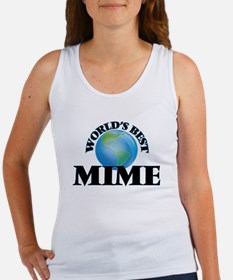 World's Best Mime Tank Top