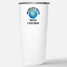 World's Best Mole Catch Stainless Steel Travel Mug