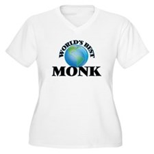 World's Best Monk Plus Size T-Shirt
