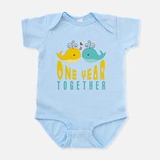 1st Anniversary Gift For Her Infant Bodysuit