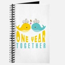 1st Anniversary Gift For Her Journal