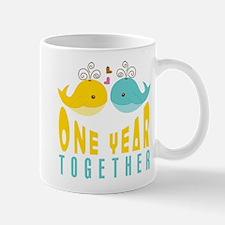 1st Anniversary Gift For Her Mug