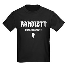 RANDLETT PARKTOBERFEST ON BLACK T-Shirt