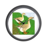 Goose and Gander Wall Clock