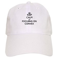 Keep Calm by focusing on Convex Baseball Cap