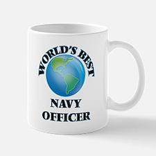 World's Best Navy Officer Mugs