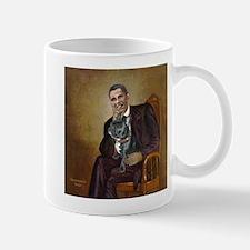 Obama - French Bulldog (BW-RedC) Mug
