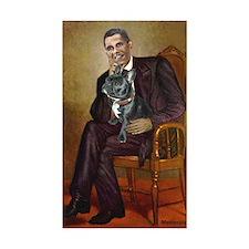 Obama - French Bulldog ( Decal