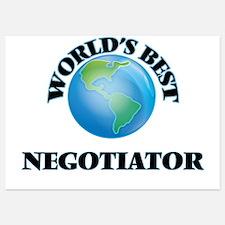 World's Best Negotiator Invitations