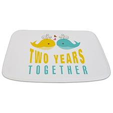 2nd aniversary celebration Bathmat