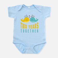 2nd aniversary celebration Infant Bodysuit