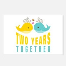 2nd aniversary celebratio Postcards (Package of 8)