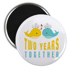 2nd aniversary celebration Magnet
