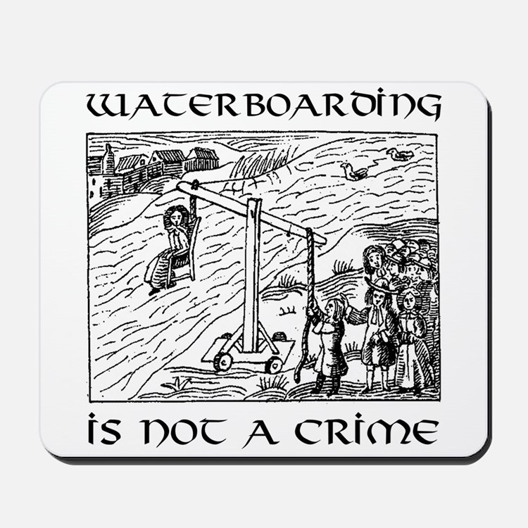 Waterboarding mousepad
