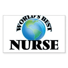 World's Best Nurse Decal